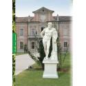 Farnese Hercules - statue da giardino in graniglia di marmo di Carrara