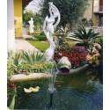 Venere danzante - statue da giardino in graniglia di marmo di Carrara