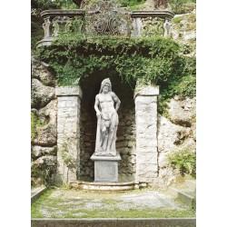 Ercole - statue da giaridino in graniglia di marmo di Carrara