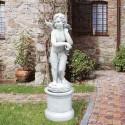 Cupido - soggetti sacri arredo da giardino in graniglia di marmo di Carrara