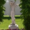 Vergogna grande - statua da giardino in graniglia di marmo di Carrara