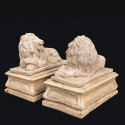 Coppia leoni Tanagra