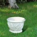 Vaso da giardino Spiga (Piccolo) in graniglia di marmo di carrara