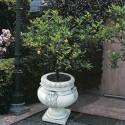 Vaso Viterbo- arredo da giardino in graniglia di marmo di carrara