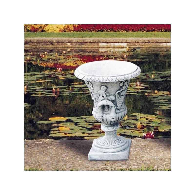 Vaso Romano (Piccolo)- arredo da giardino in graniglia di marmo