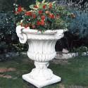 Vaso Felce (Piccolo)- arredo da giardino in graniglia di marmo di carrara