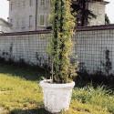 Campana Quattro Stagioni- arredo da giardino in graniglia di marmo di carrara