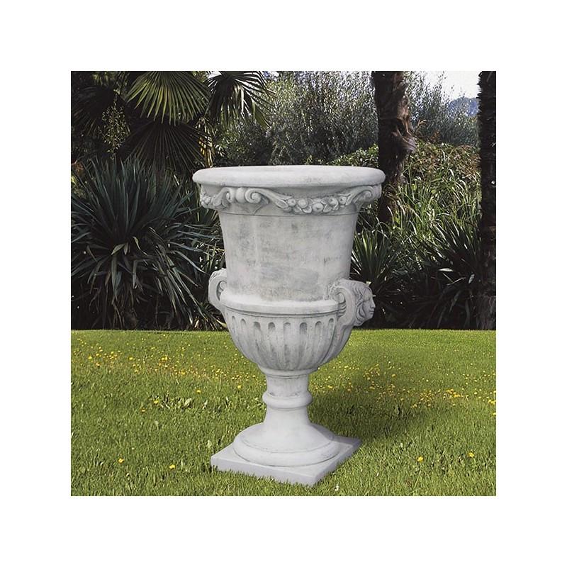 Vaso Italia- arredo da giardino in graniglia di marmo di carrara