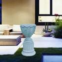 Vaso Caracalla- vaso in graniglia di marmo di carrara