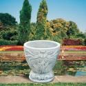 Vaso Rododendro-pietra ricomposta arredo da giardino