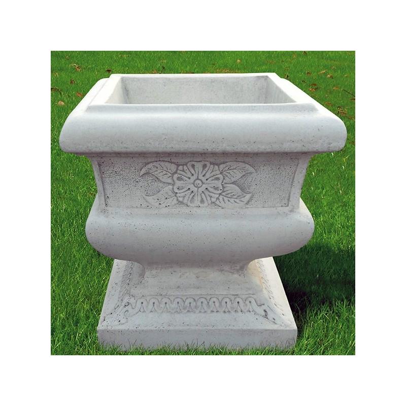 Vaso Positano- arredo da giardino in pietra ricomposta