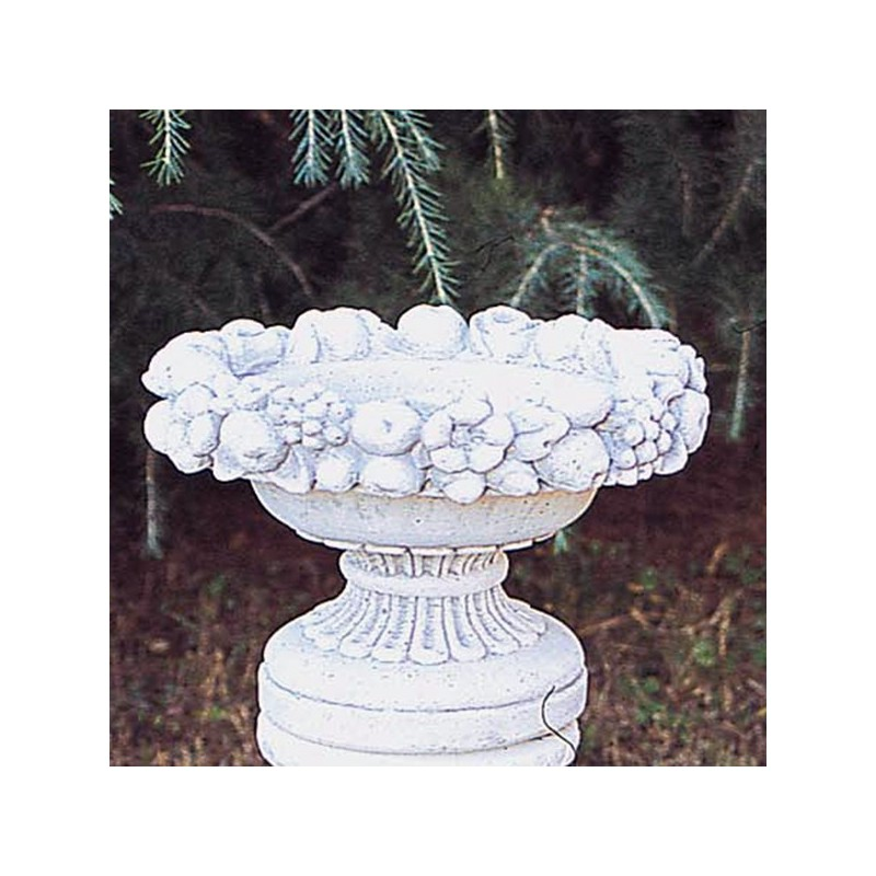 Vaso Portanoci- arredo da giardino in pietra ricomposta