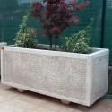 Fioriera Pietrasanta (piccola)- arredo da giardino in pietra ricomposta