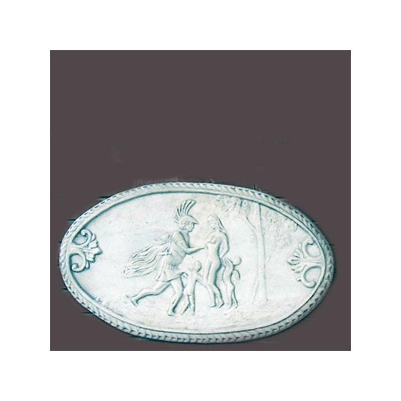 Ratto delle Sabine - arredo da giardino graniglia di marmo di Carrara 100% Made in Italy