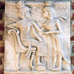 ägyptische Flachrelief