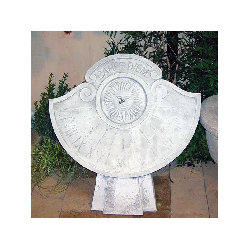 La Meridiana - arredo da giardino in pietra ricomposta 100% Made in Italt