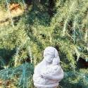 Maternità - arredo da giardino in graniglia di marmo di Carrara 100% Made in Italy
