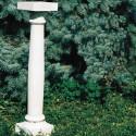 Colonnetta Easy - arredo da giardino in pietra ricomposta