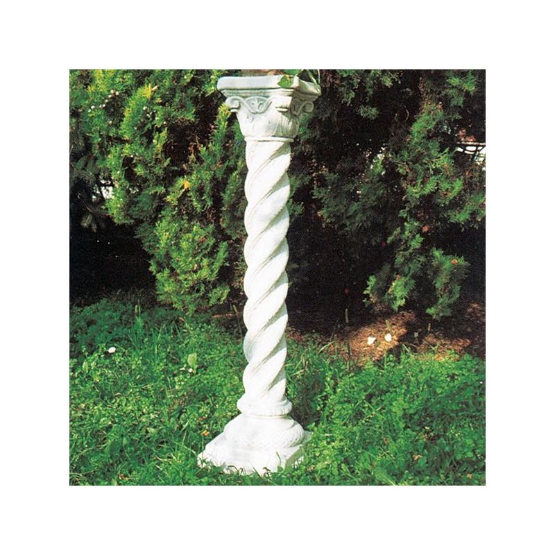 Colonnetta Ester - arredo da giardino in graniglia di marmo di Carrara