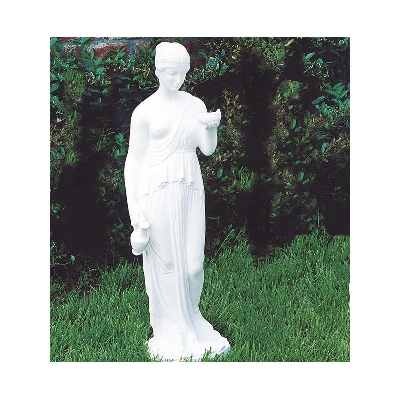 Ebe-statue da giardino in granilia di marmo di carrara