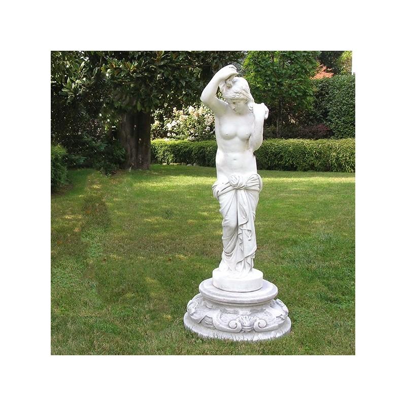 Tacita - statue da giardino in graniglia di marmo di Carrara