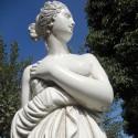 Paolina (media) - statue da giardino in graniglia di marmo di Carrara