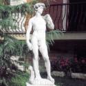 David di Michelangelo - statue da giaridino in graniglia di marmo di Carrara