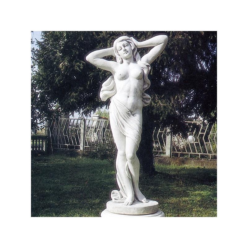 Venere Emilia - statue da giardino in pietra ricomposta 100% Made in Italy