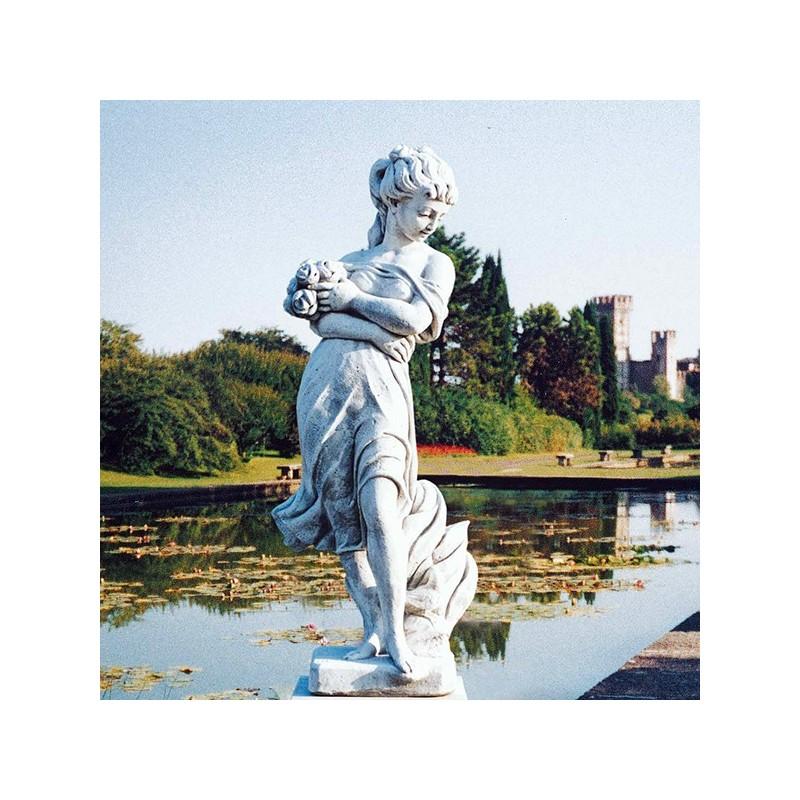 Eris - statue da giardino in graniglia di marmo di Carrara