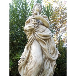 Aurora - statue da giardino in graniglia di marmo di Carrara
