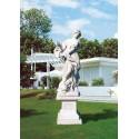 Ninfa del mare - arredo da giardino in graniglia di marmo di Carrara