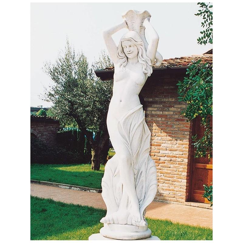 Venere della fortuna - statue da giardino in graniglia di marmo di Carrara