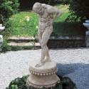 Atlante - statue da giardino in pietra ricomposta 100% Made in Italy