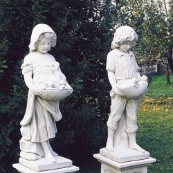 Children couple