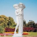Venere Callipigia - statue da giardino in graniglia di marmo di Carrara