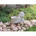 Cocker - statue da giardino animali in graniglia di marmo di Carrara