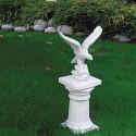 Aquilotto - statue da giardino in graniglia di marmo di Carrara
