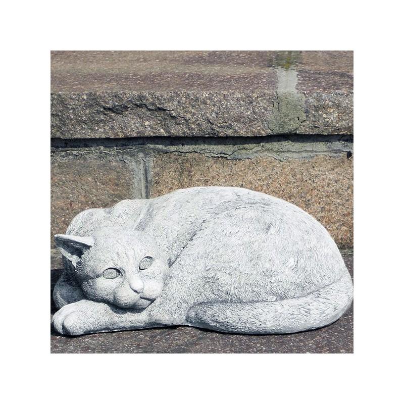 Gattino - arredo da giardino statue da giardino in pietra ricomposta 100% Made in Italy