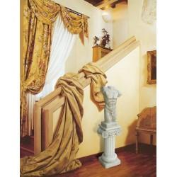 Colonnino Cartagine - arredo da giardino in graniglia di marmo di Carrara