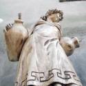Damigella '900 - statue da giardino in graniglia di marmo di Carrara