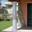 Colonna Pompei - edilizia arredo da giardino in graniglia di marmo di Carrara