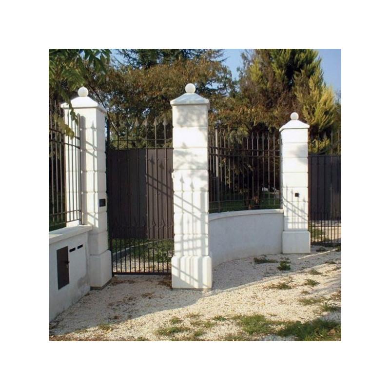 Pilastro Martellinato G. - edilizia in cemento bianco 100% Made in Italy