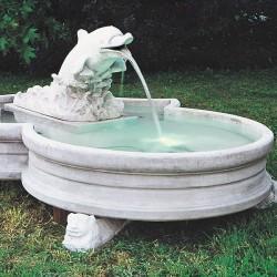 Fontana da giardino mod. Delfinetto