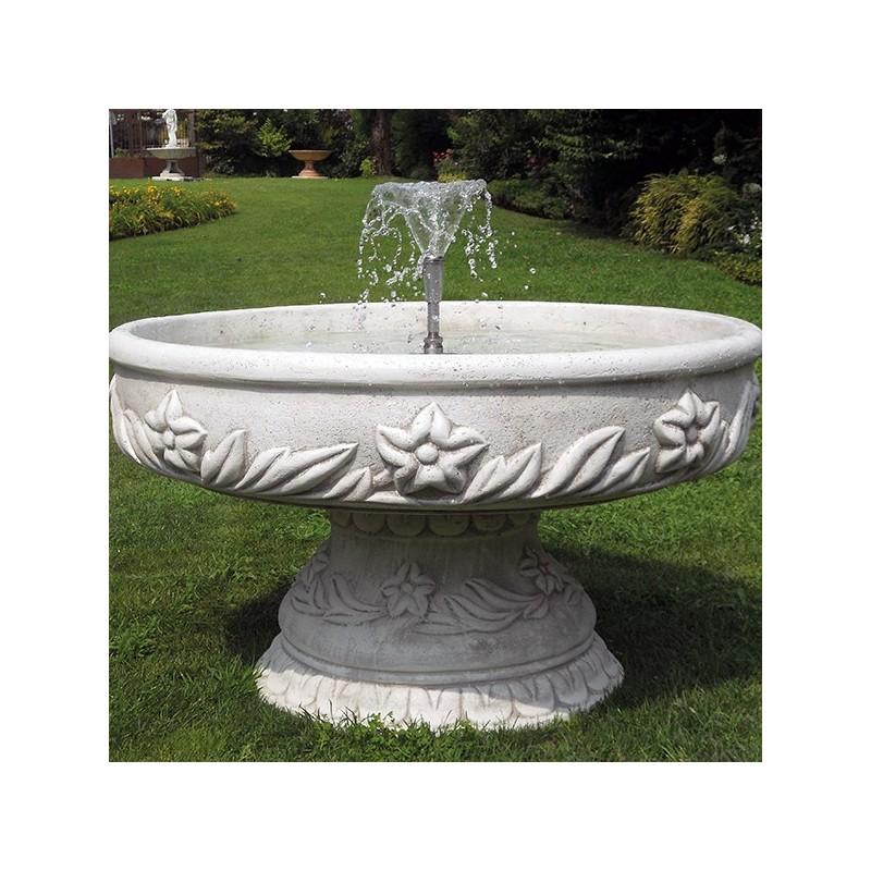 Fontane da giardino mod ercolano produzione e vendita - Fontane in marmo da giardino ...