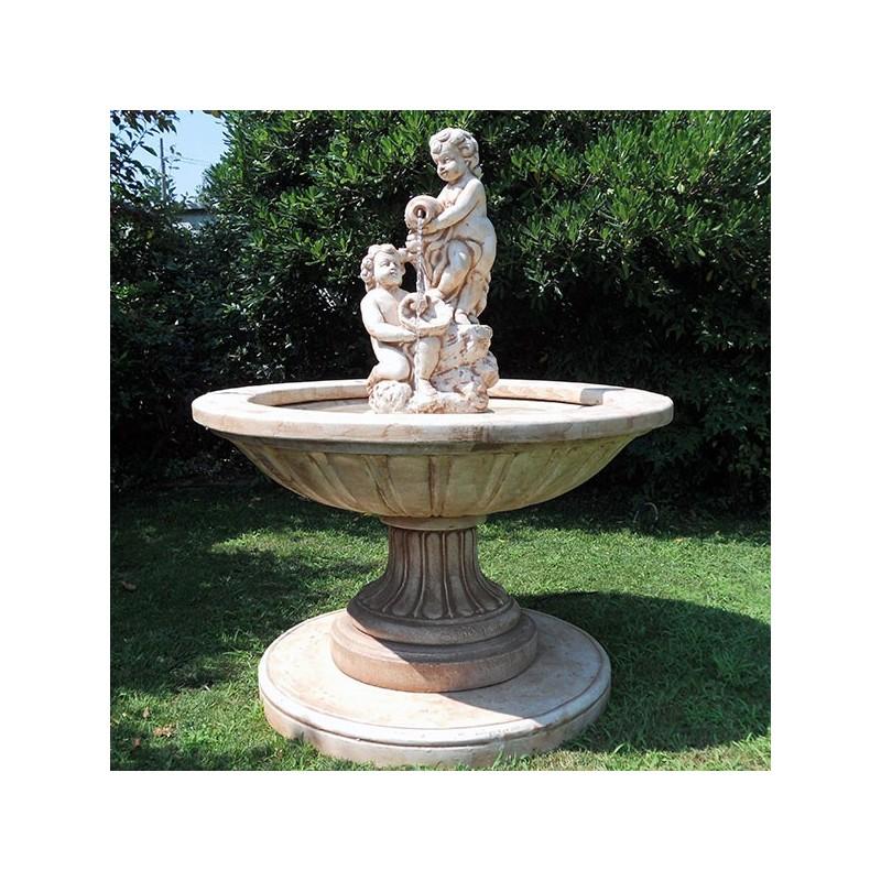 Fontana Pozzuoli fontane da giardino funzionanti in pietra ricomposta