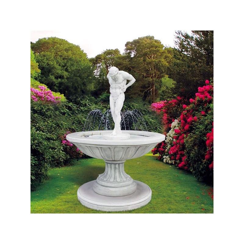 Fontane da giardino mod atlante produzione e vendita - Fontane in marmo da giardino ...