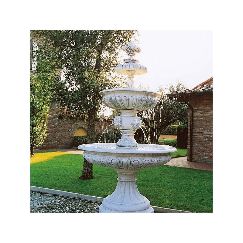 Fontane da giardino mod linda g produzione e vendita - Fontane in marmo da giardino ...