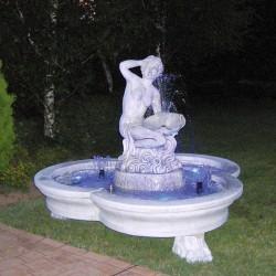 Nuova fontana 5 terre fontane da giardino funzionanti in pietra ricomposta