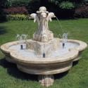 Fontana Olbia - fontane da giardino funzionanti in graniglia di marmo di Carrara