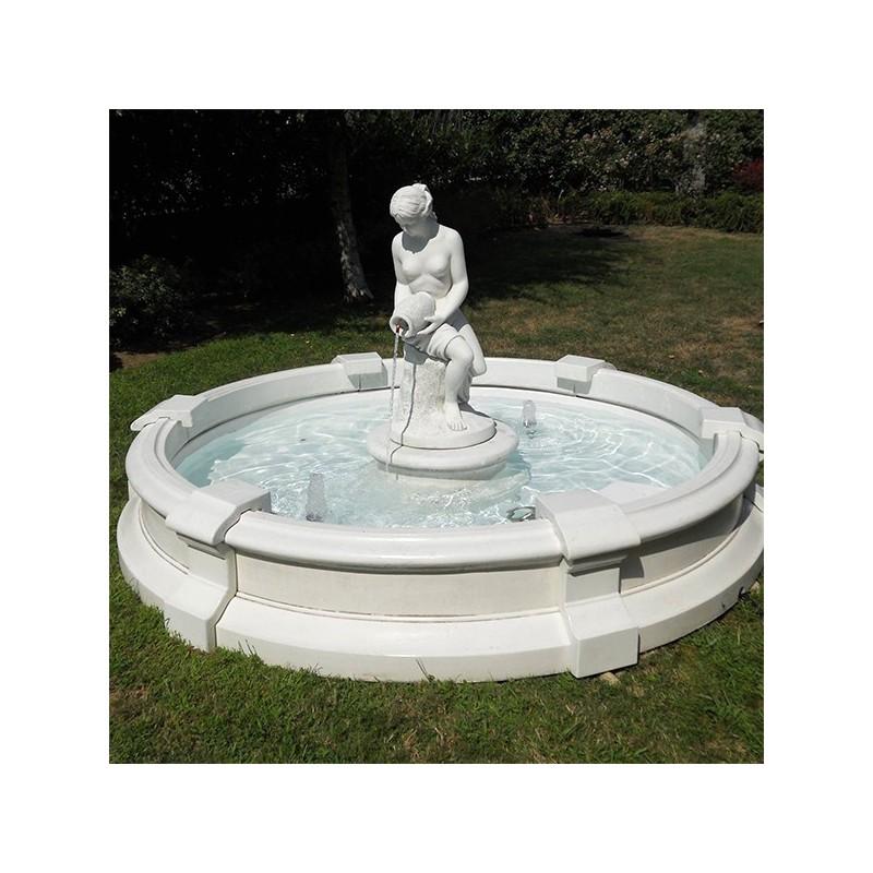 Fontane da giardino mod genova produzione e vendita - Fontane in marmo da giardino ...